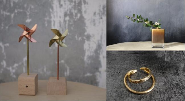 黃銅是什麼?從飾品到居家裝飾,充滿獨特魅力的黃銅作品介紹