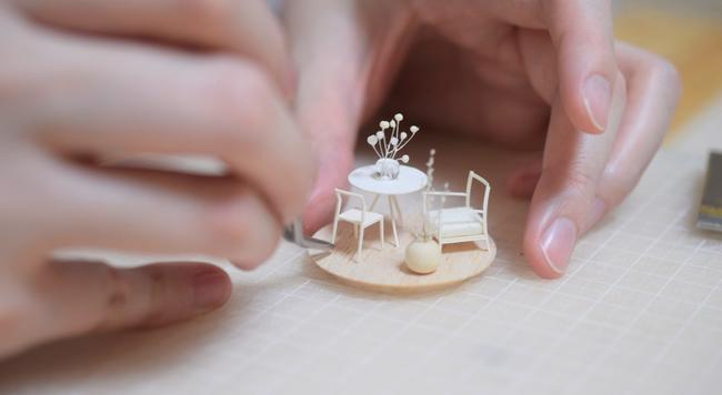"""「今、私が会いたい人」模型の表現を追求する、""""空間""""の飽くなき探究者 - 建築模型作家・okamoto barba namiさん"""
