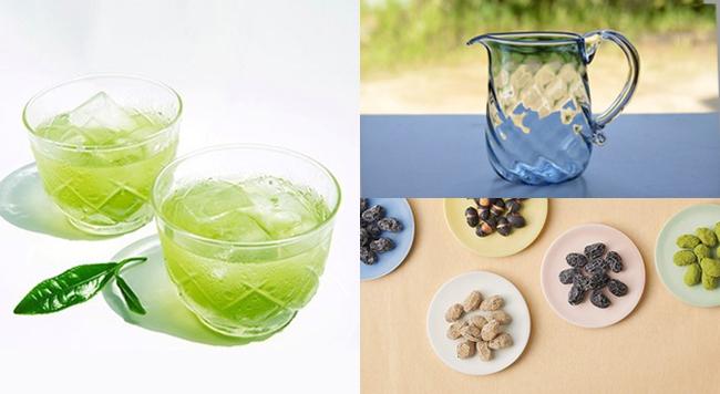 夏も緑茶を楽しもう!冷たい緑茶の作り方と緑茶を美味しく味わう作品