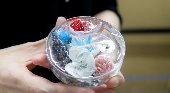 色と香りを楽しむ、ジェルキャンドル作り。キャンドル作家・nicoriさんをお招きしました〈クリーマのワークショップ第10回〉