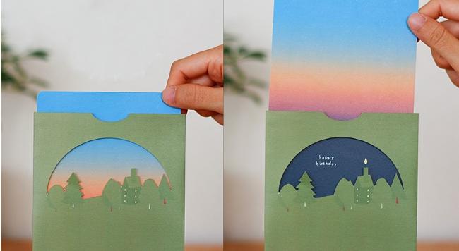 日 飛び出す カード 誕生