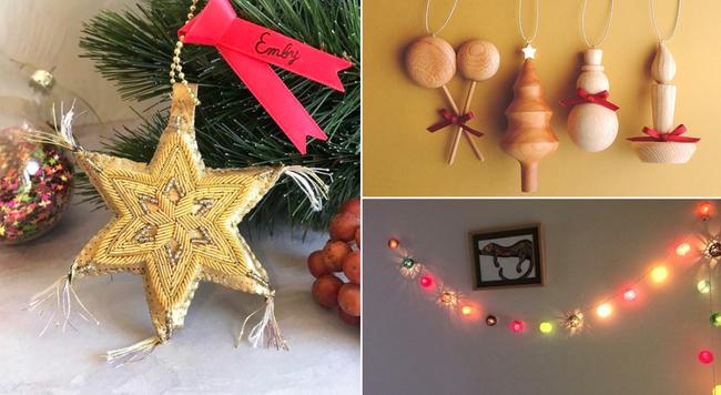 去年とひと味違うクリスマスに!ハンドメイドのオーナメントとクリスマスツリーの飾り付けアイデア