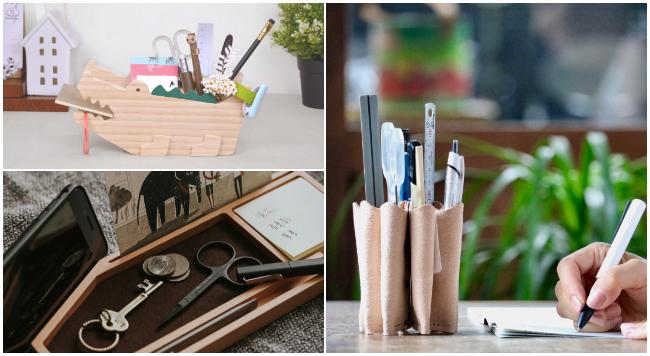揮別凌亂書桌!4種文具收納整理小技巧介紹