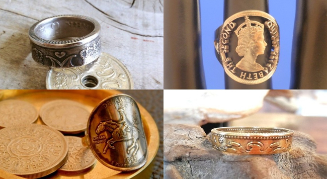 小さなリングに大きな歴史。ロマンあふれる「コインリング」の魅力とは?