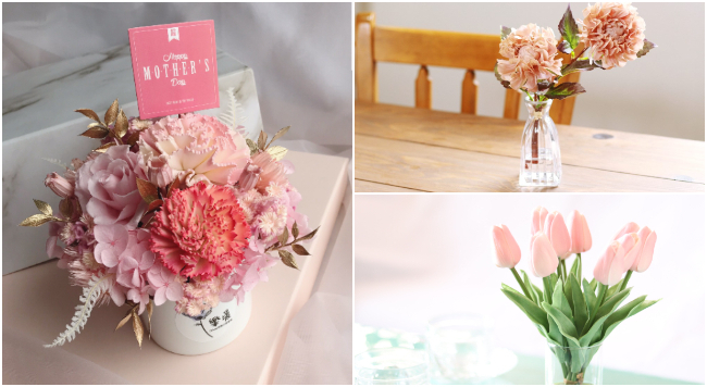 藉花傳遞對媽媽的愛!母親節的花禮與花語