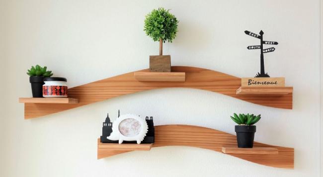 兼具收納與裝飾,善用「層架」簡單改造居家風格!