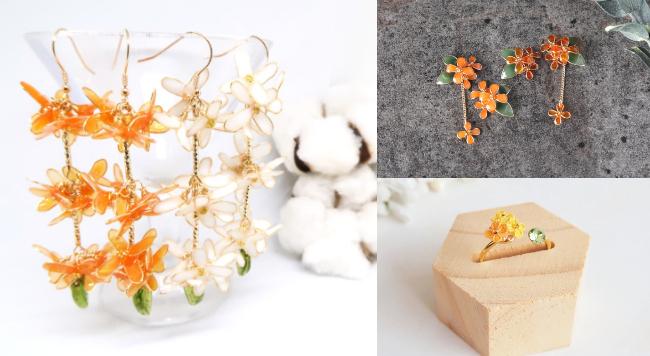 秋天裡的香甜花氣。金木樨花語&作品選