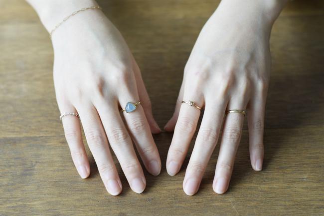 指輪 人差し指