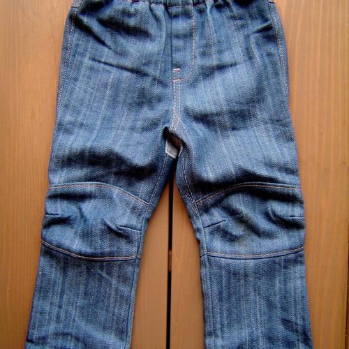 ○型紙○ ひざ切替パンツ(子供服:2size割)