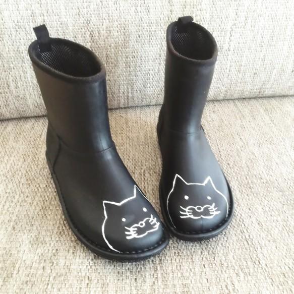 836e72c59f36a4 再販♪【送料無料】猫柄のレインブーツ シューズ・靴 free more 通販 ...