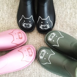 82cd7ee32ea8e8 再販♪【送料無料】猫柄のレインブーツ シューズ・靴 free more 通販 Creema(クリーマ) ハンドメイド・手作り・クラフト作品の販売サイト