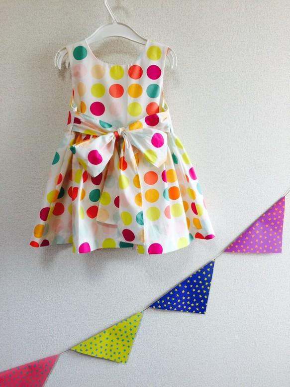 f1dd7eb205d3e キャンディドットのワンピース*キッズ(100〜120サイズ) 子供服 petit ...