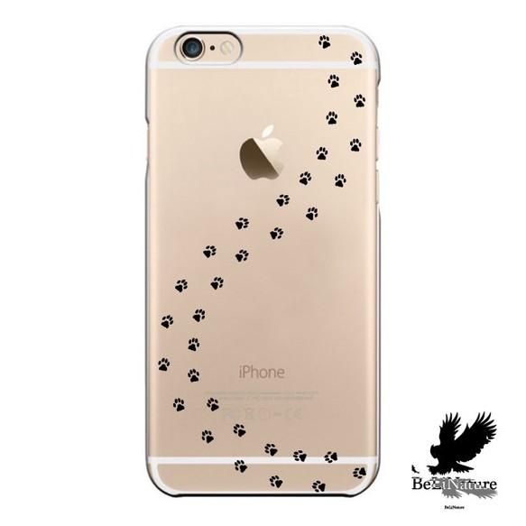 iphone5 5s 5c 6 6s 6plus 6splus ケース 犬の足跡 ケース iphoneケース
