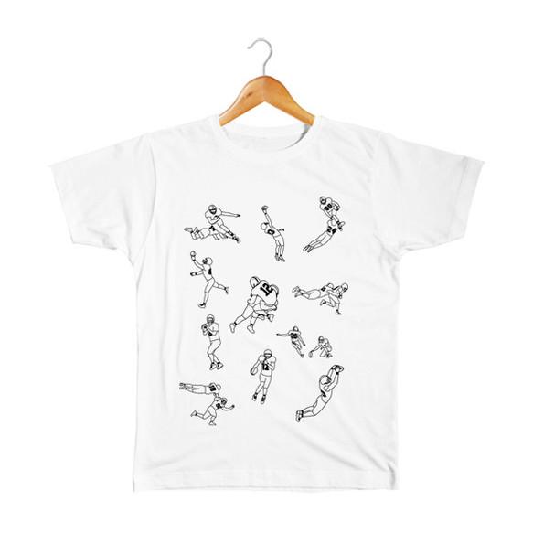 e85670e036a2e アメフト キッズTシャツ 子供服 takesick 通販 Creema(クリーマ ...