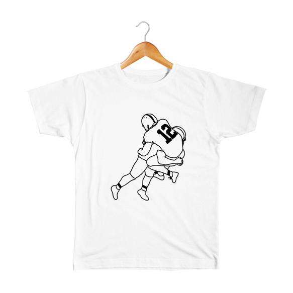 8501a10857872 アメフト  5 キッズTシャツ 子供服 takesick 通販 Creema(クリーマ ...