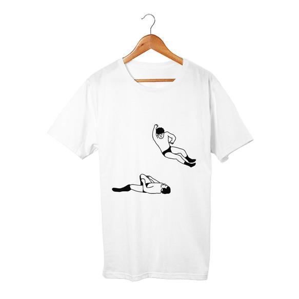 ec21246f5b5ce エルボードロップ Tシャツ Tシャツ・カットソー takesick. ハンドメイド通販・販売 Creema ...