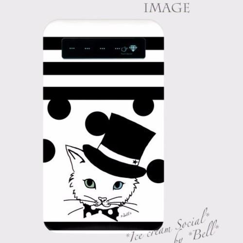 〈受注制作〉モバイルバッテリー*お洒落ネコ