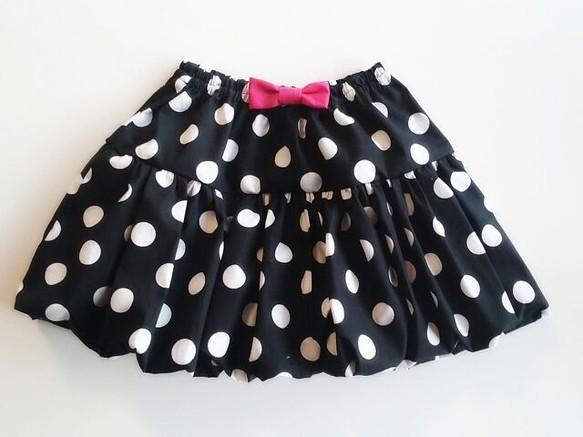 8221d878e59a4 ドット柄バルーンスカート Kid s M(115~125) 子供服 a.d.d 通販 ...