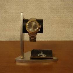 new products 3d712 59197 敬老の日に 腕時計スタンド デザイン時計収納スタンド ブラックトレイバージョン No.120213