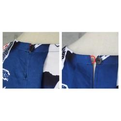 d3e5c8bee1b0c 普段着のTブラウス 浴衣地ハイビスカス 着物リメイク シャツ・ブラウス COCORO 通販|Creema(クリーマ) ハンドメイド・手作り・クラフト作品 の販売サイト