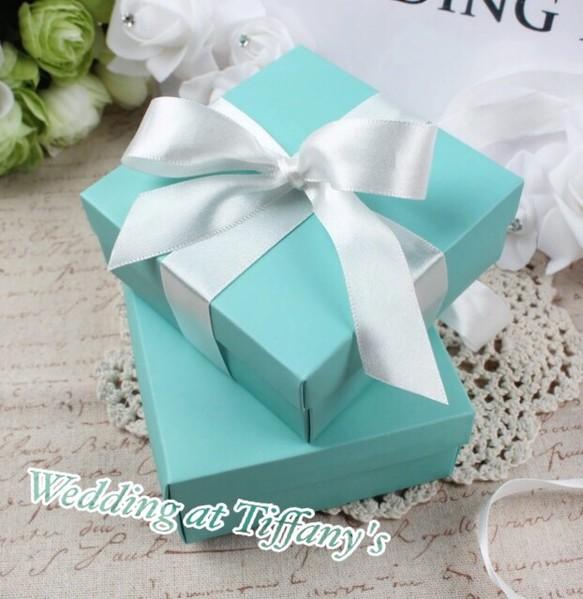 premium selection 04507 0df60 【2個価格】サンクスギフト☆thanks gift☆ブルーbox