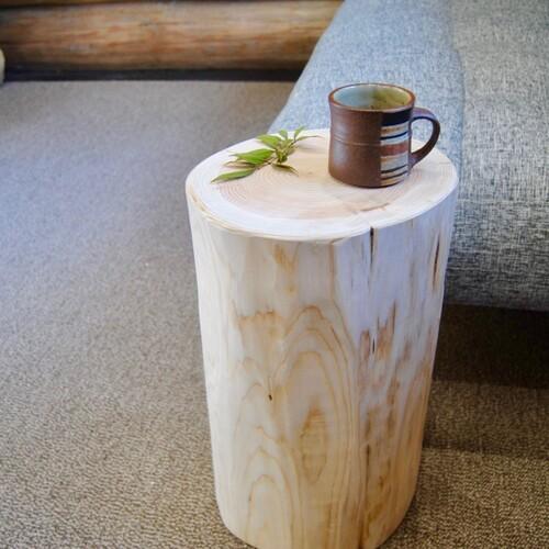 森林浴スツール 太陽のHINOKI made in MIYAZAKI H45-φMsize