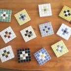 mosaic tile  d.