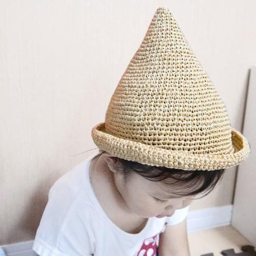 子供 ニット 帽 編み 図 棒針