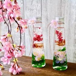 桜ハーバリウム**お祝いギフト*母の日ギフト