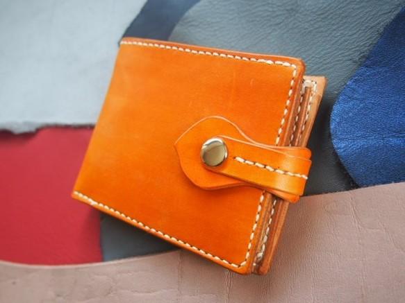 026c57fd4d8c 二つ折りブラウン革財布(MS-011) 財布・二つ折り財布 オッカン 通販 ...