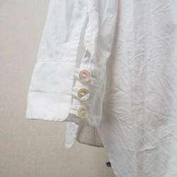 e57039fcc4320 受注製作 後ろ下がりプルオーバー、白 シャツ・ブラウス belleasie 通販 ...
