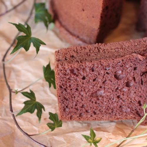 チョコレート シフォン ケーキ