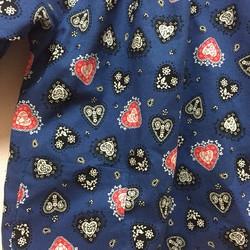 c3b2ce82ac6a8 オーダー可*スモック ハート♡バンダナ柄(受注製作) 子供服 jewel-plus+hands 通販|Creema(クリーマ)  ハンドメイド・手作り・クラフト作品の販売サイト