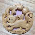 木彫り  nao