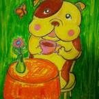 happy Bulldog