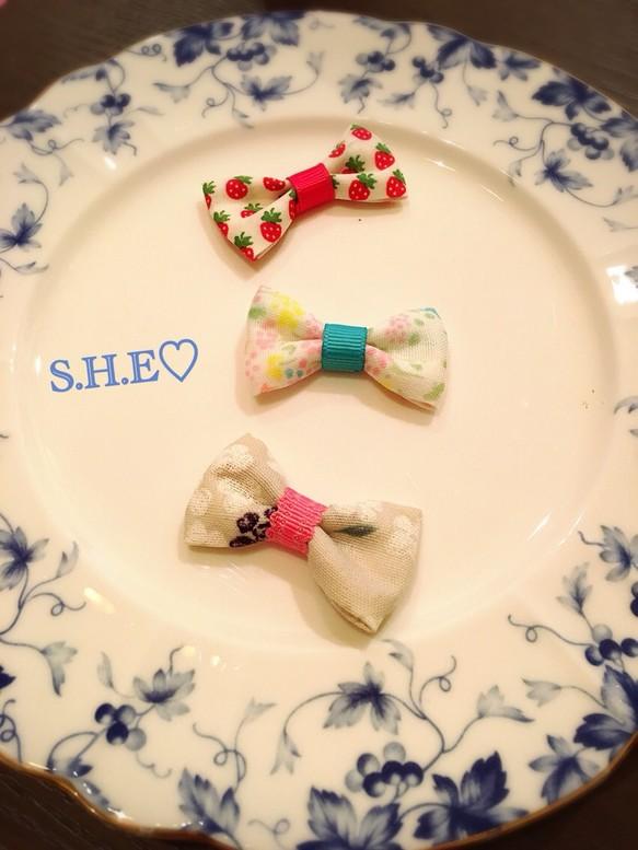 f16b2d15cd5062 かわいい布で♡リボンヘアピン3本セット 雑貨・その他 hikarimam 通販 ...