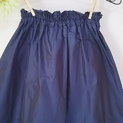 0d9ba6c35860a1 おおきなリボン付きギャザースカート シルク混紡の形状記憶素材 スカート MADAM*MICHIYO 通販|Creema(クリーマ)  ハンドメイド・手作り・クラフト作品の販売サイト