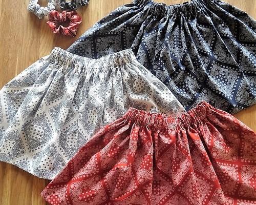 1ec834fcdea20 モノトーンギャザースカート 子供服 ♡ichizu 通販|Creema(クリーマ ...