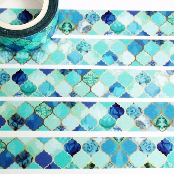 紙テープモロッコタイル リボン・テープ 麒麟