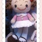 Angel毛線娃娃