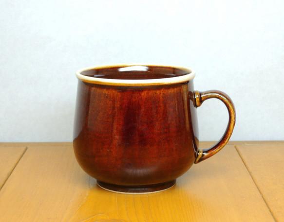 飴釉 マグカップ