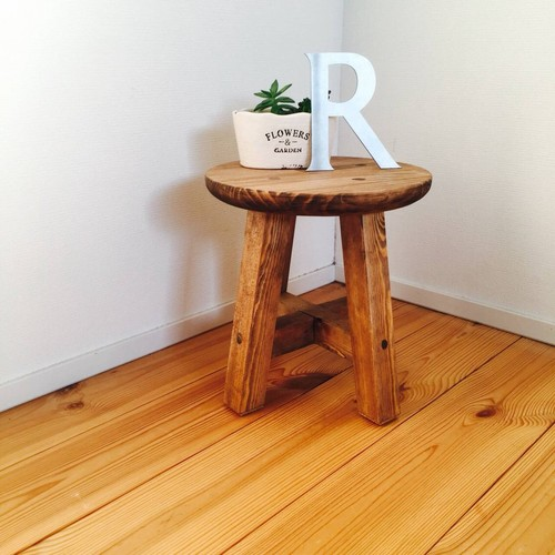 RoomClip商品情報 - レトロなスツール brown