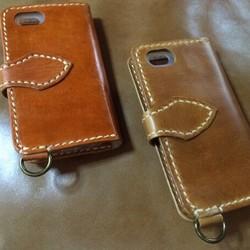 542fda7963 オーダー作品 iPhone5sレザーケースべっこう、ブラウンキャメル コンチョボタンタイプ iPhoneケース・カバー ニシビ 通販|Creema( クリーマ) ハンドメイド・手作り・ ...