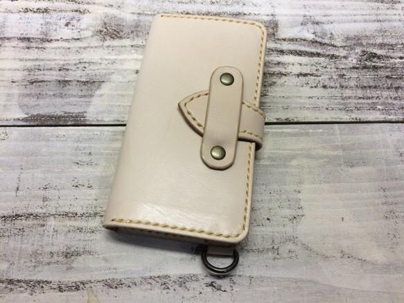 e6c0fbe680 オーダー作品 本革タンローヌメ革スマホケース iPhoneケース・カバー ...