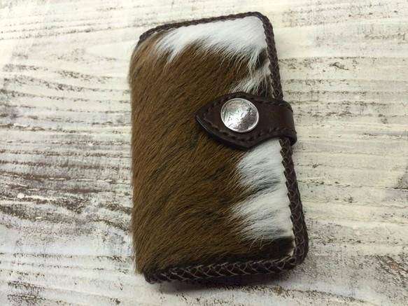eb78def32d オーダー作品 毛皮のレザースマホケース iPhoneケース・カバー ニシビ ...
