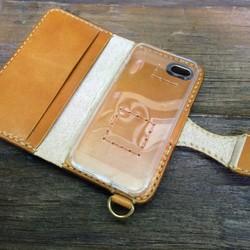 608df50a21 オーダー作品 iPhone5sレザーケース べっこう色 ツヤありキャメル iPhoneケース・カバー ニシビ 通販|Creema(クリーマ)  ハンドメイド・手作り・クラフト作品の販売 ...