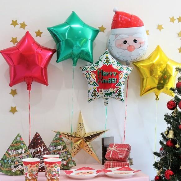 「クリスマス 飾り付け バルーン」の画像検索結果