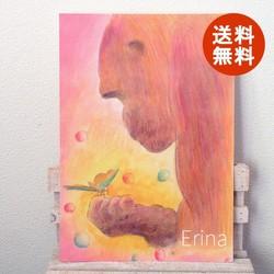 温かい心 ポスター両面印刷タイプ 送料無料 イラスト Erina 通販creema