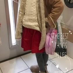 82b6c26860236 新作♡赤が可愛いリボンギャザースカート 子供服 ♡ichizu 通販|Creema(クリーマ) ハンドメイド・手作り・クラフト作品の販売サイト
