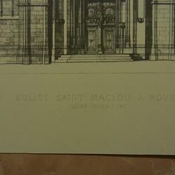1432年に再建された、ルーアンの...